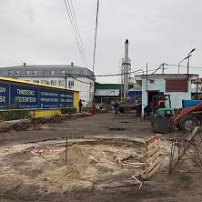 """Начало строительных работ по возведению склада на территории комплекса """"Чувашгосснаб"""""""