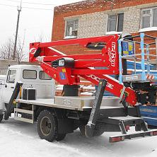 Сдается в аренду автовышка Socage DA-324 на базе автомобиля ГАЗ 3309
