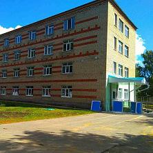 Здание диализного центра после реконструкции: входная группа
