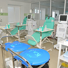 Завершен монтаж медицинского оборудования, центр готов к приему пациентов