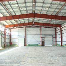 Склад площадью 1200 кв. м построен Строительной компанией ТАВ в 2012 году