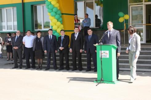 Торжественное открытие логистического центра, построенного СК ТАВ