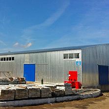 Холодный склад площадью 1200 кв. м построен Строительной компанией ТАВ в 2013 году