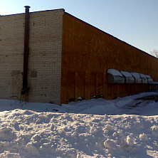 Здание овощехранилища до реконструкции