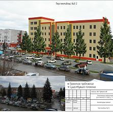 Проектное предложение реконструкции торгово-складского комплекса. Вид 2