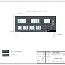 Проект надстройки производственного здания: архитектурное решение фасада