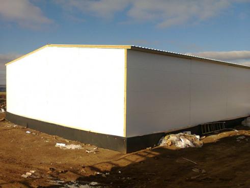 Ведется строительство овощехранилища для картофеля вместимостью 3000 тонн