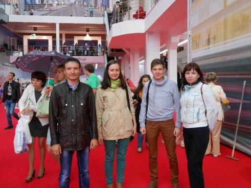 Проектная группа Строительной компании ТАВ навыставке «Регионы— сотрудничество без границ»